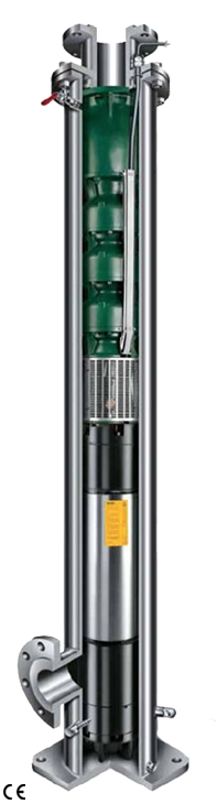 image of offshore submersible pump